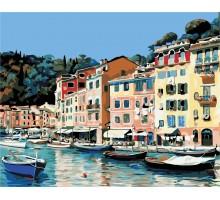 Картина по номерам Итальянский городок