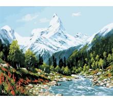 Картина по номерам Высокие горы