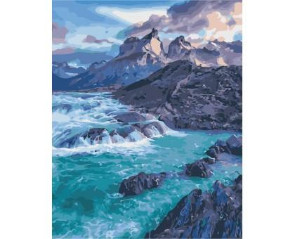 Картина по номерам Прибрежные скалы