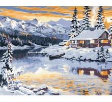 Картина по номерам Волшебная зима
