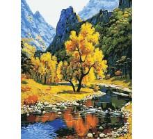 Картина по номерам Осень в горах