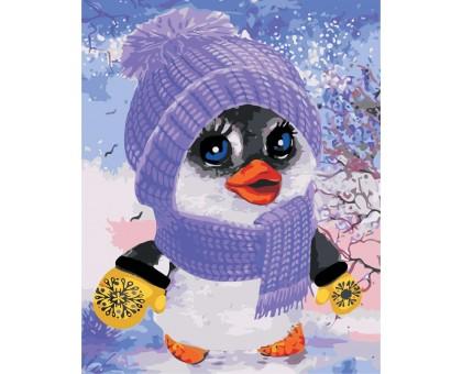 Картина по номерам Пингвинчик