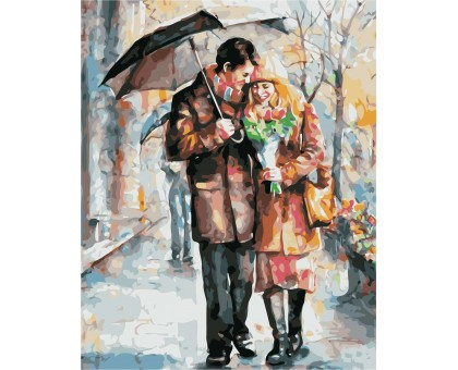 Картина по номерам Осеннее свидание