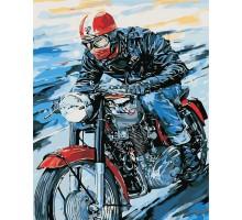 Картина по номерам Мотоциклист