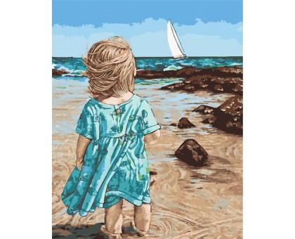 Картина по номерам Маленькая Асоль