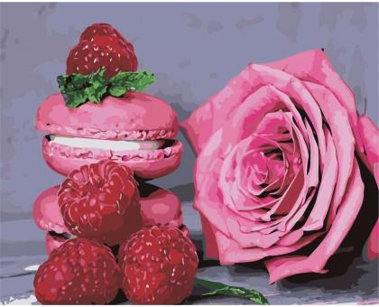 Картина по номерам Розовое наслаждение
