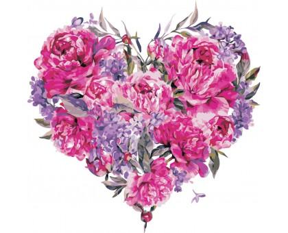 Картина по номерам Эмблема любви