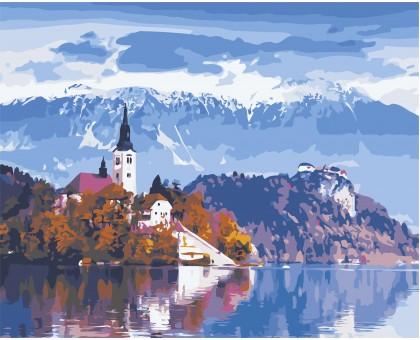 Картина по номерам Красота Австрии