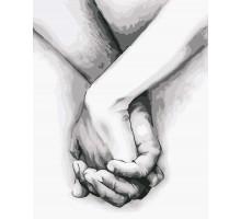 Картина по номерам Рука в руке