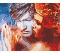 Картина по номерам Лед и пламя