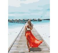 Картина по номерам Мальдивы