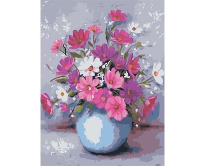 Картина по номерам Цветы в вазе