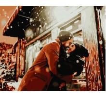 Картина по номерам Зимнее свидание