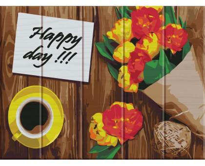 Картина по номерам Happy day