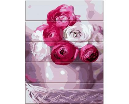 Картина по номерам Букет из роз
