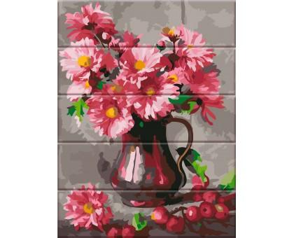 Картина по номерам Хризантемы