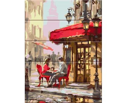 Картина по номерам Уличное кафе