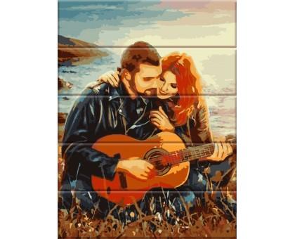 Картина по номерам Вечер с гитарой