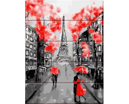 Картина по номерам Улицы Парижа