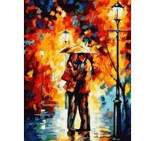 Картина по номерам Зонтик для двоих
