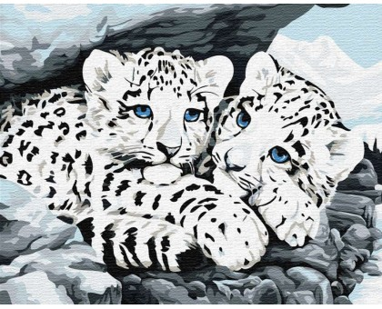 Картина по номерам Тигрюли