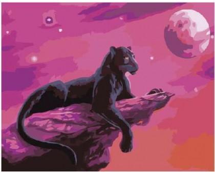 Картина по номерам Розовая пантера