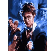 Картина по номерам Гарри Поттер