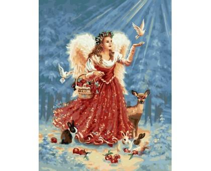 Картина по номерам Ангел в лучах солнца