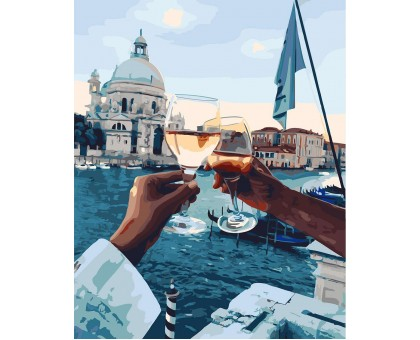 Картина по номерам Свидание в Венеции