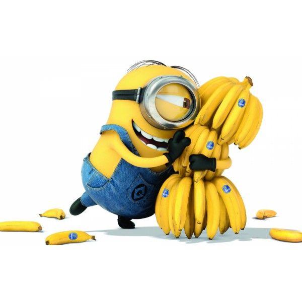Картина по номерам Миньоны Банана (БЕЗ КОРОБКИ)