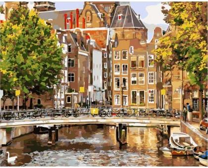 Картина по номерам Старый Амстердам