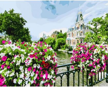 Картина по номерам Цветущий Амстердам