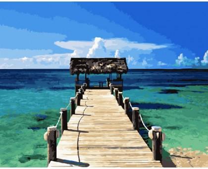 Картина по номерам Карибы