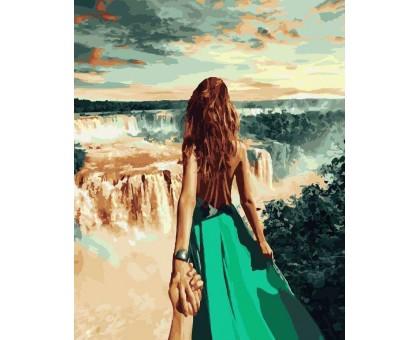 Картина по номерам Следуй за мной Бразилия