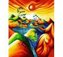 Картина по номерам Краски саванны