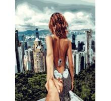 Картина по номерам Следуй за мной Сингапур