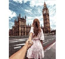 Картина по номерам Следуй за мной Лондон