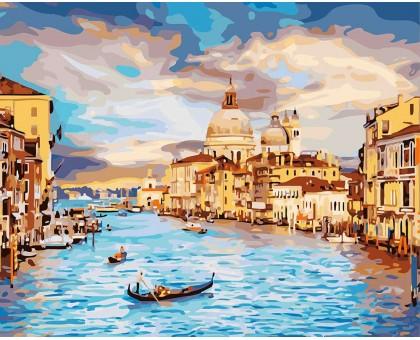 Раскраска по номерам Очарование Венеции