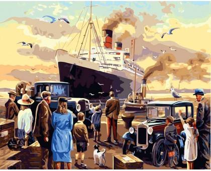 Картина по номерам Отплытие