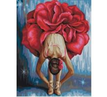Картина по номерам Цветочный балет