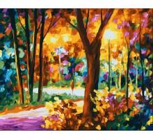 Картина по номерам Осенний парк