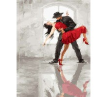 Картина по номерам Танго навсегда