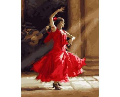 Картина по номерам Фламенко