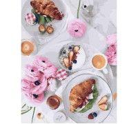 Картина по номерам Французский завтрак (Без коробки)