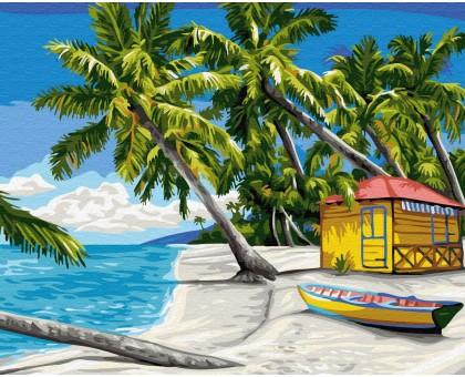 Картина по номерам Райский остров
