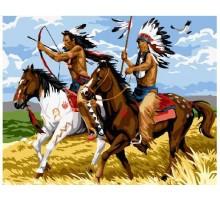 Картина по номерам Индейцы на охоте