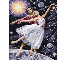 Картина по номерам Звездный танец (Без коробки)