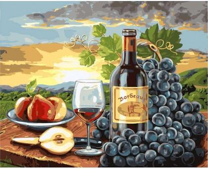 Картина по номерам Груши и вино
