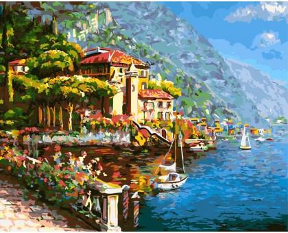 Картина по номерам Живописная Хорватия