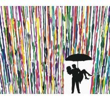 Картина по номерам Двое под зонтом